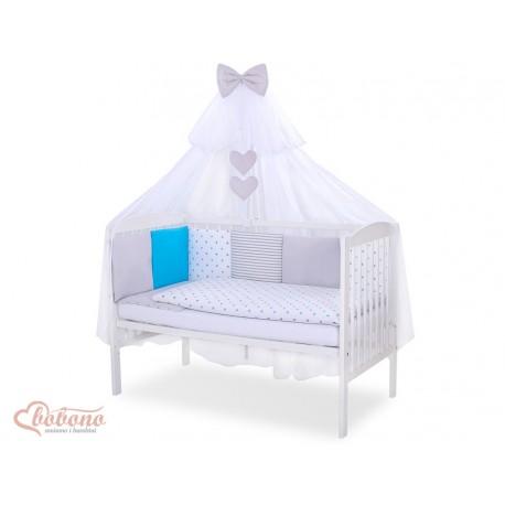 Parure de lit bébé complète Color mix Set 3