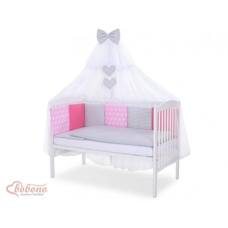 Parure de lit bébé complète Color mix Set 2
