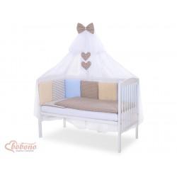 Parure de lit bébé complète Color mix Set 1