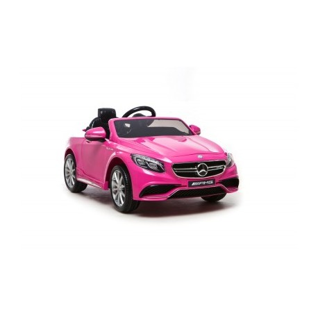 voiture lectrique pour enfant mercedes s63 amg rose. Black Bedroom Furniture Sets. Home Design Ideas