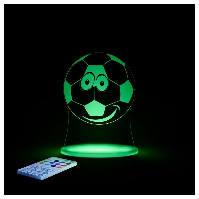 veilleuse pour b b led sleepy light le football. Black Bedroom Furniture Sets. Home Design Ideas