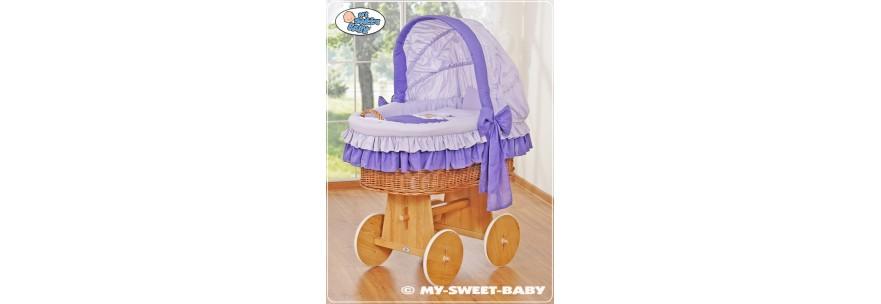 Berceaux pour bébé en couleur