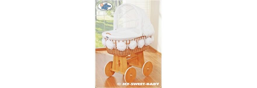 Berceaux pour bébé à pompons