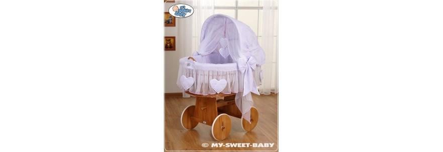 Berceaux pour bébé coeurs