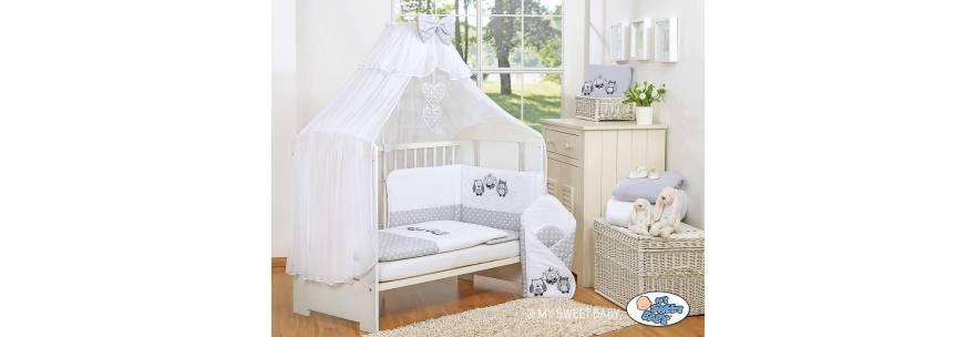 Linges de lit pour bébé hibou