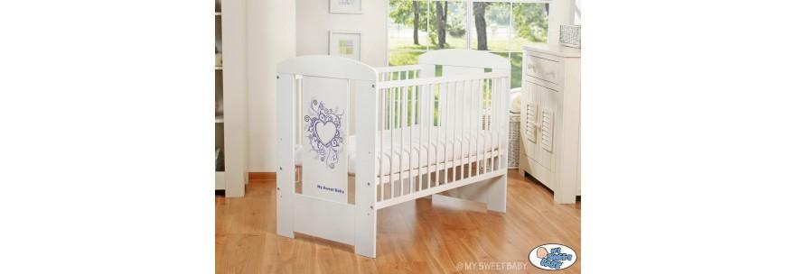 lit pour b b chic mobilier chambre pour enfant reve leen. Black Bedroom Furniture Sets. Home Design Ideas