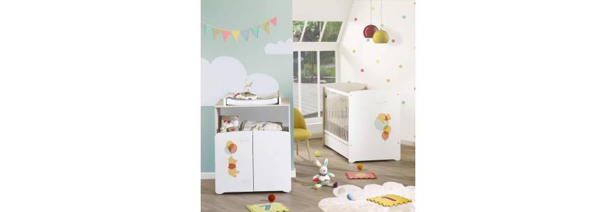 Chambre pour bébé sauthon - mobilier chambre enfant