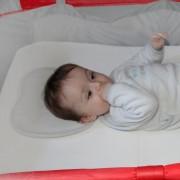 Coussin câle tête pour bébé