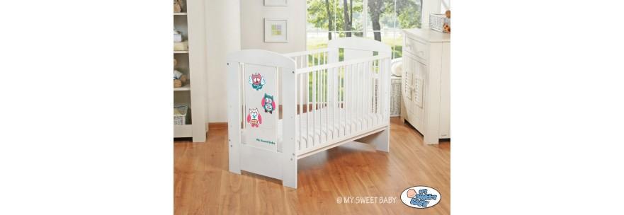 Lit pour bébé motif Hibou Mobilier chambre pour enfant