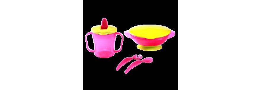 Assiette bébé, tasse bébé, bol pour bébé