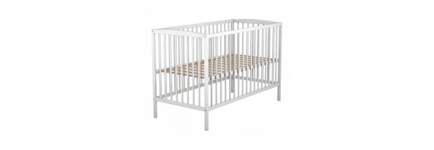 Lit bébé en bois et tiroir de lit